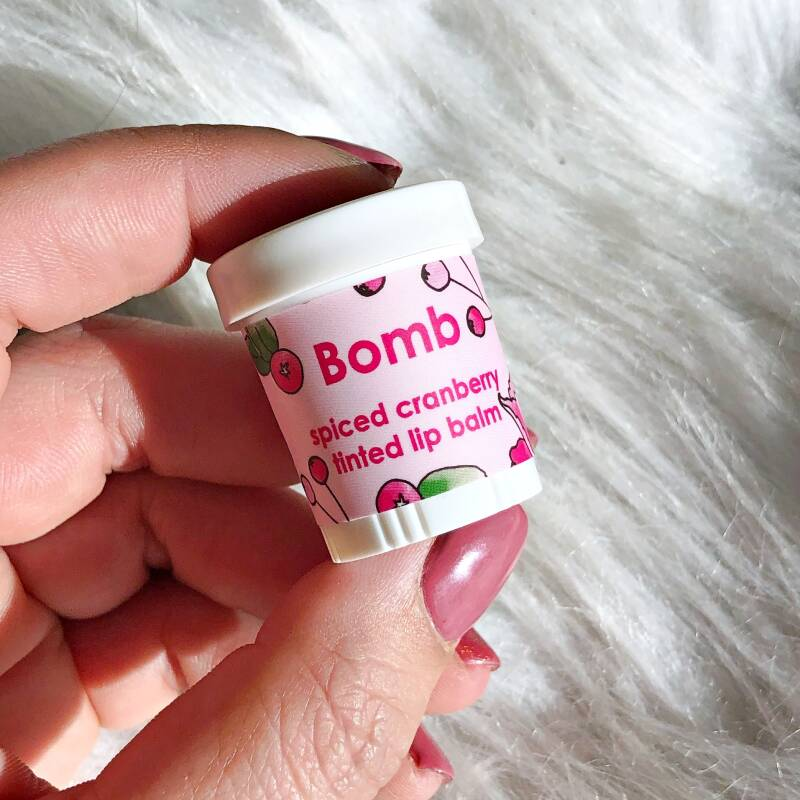 LIP BALM TINTED - SPICED CRANBERRY