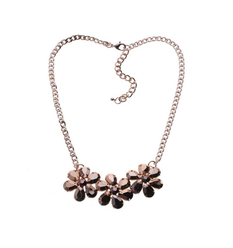 NECKLACE - STONE FLOWERS