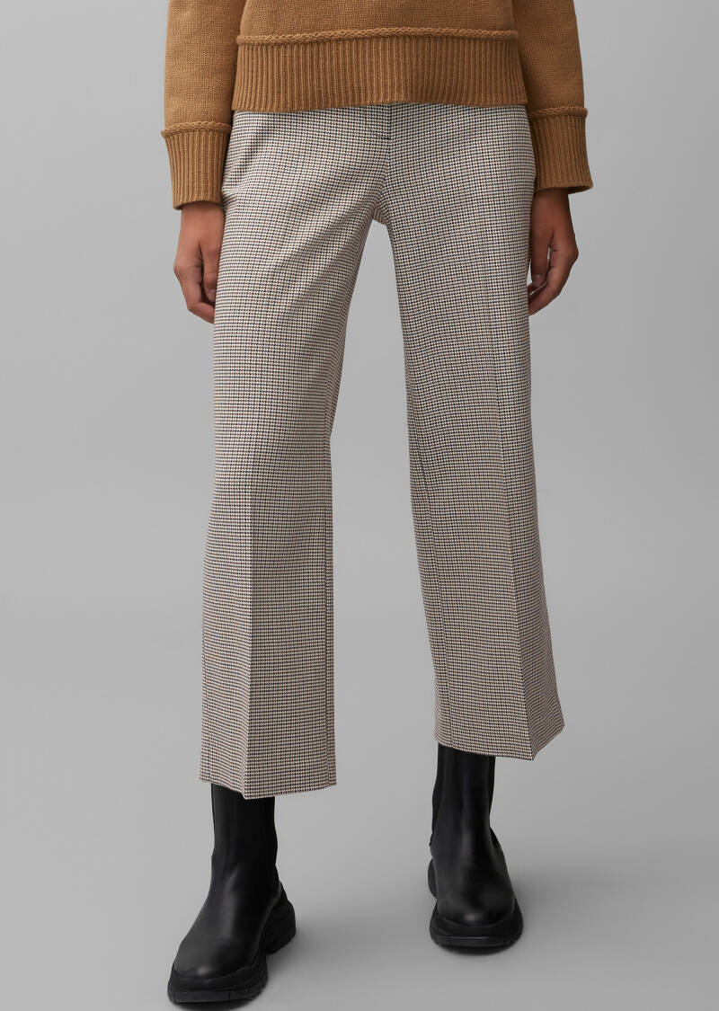 Marc O'Polo - Broek, pull-on, wide leg medium