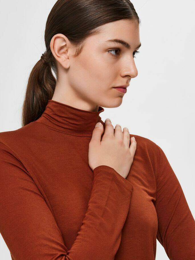 Selected Femme - col rood