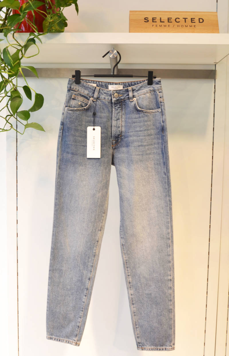 Selected Femme - Lou Tapered Jeans