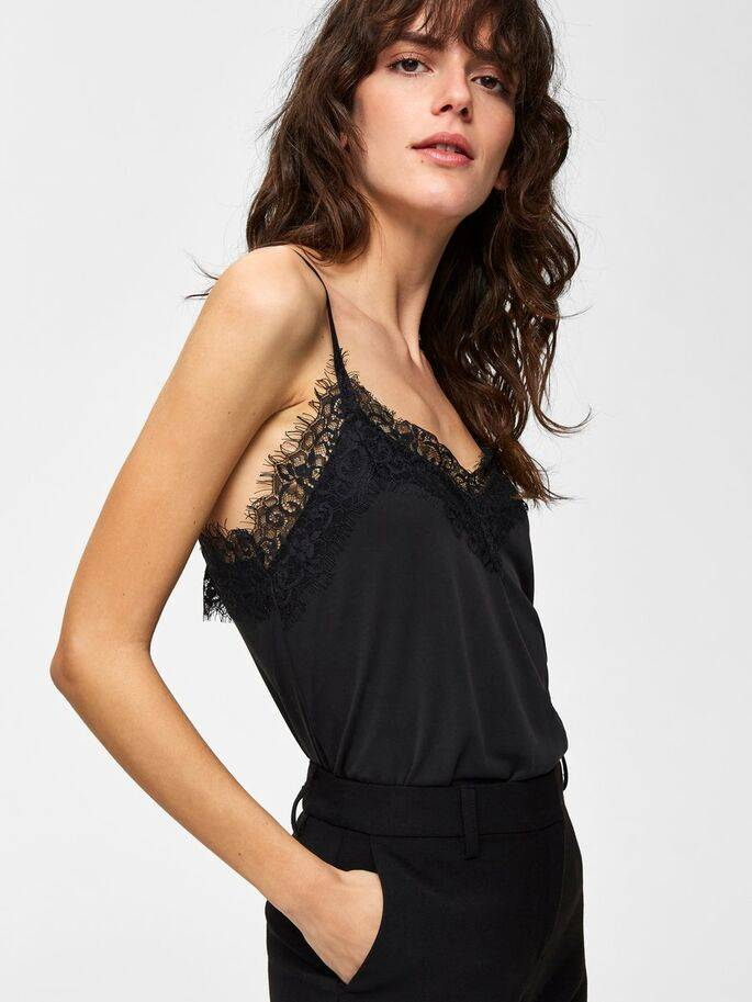 Selected Femme - Ella kanten top