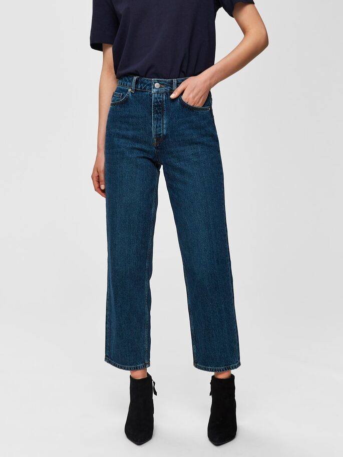Selected Femme - High waist straight fit Jeans