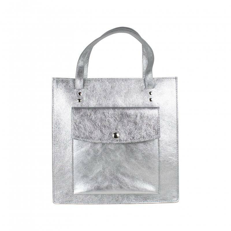 Baggyshop - Out of office metallic tas