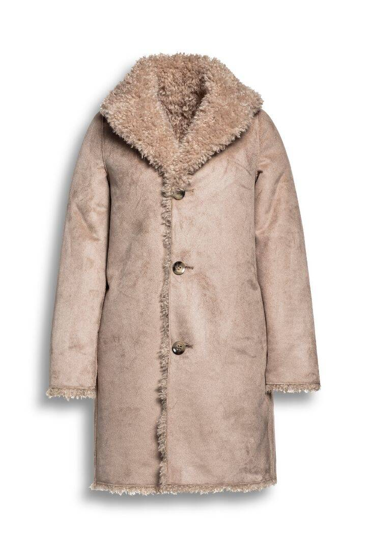Beaumont - Curly lammy coat