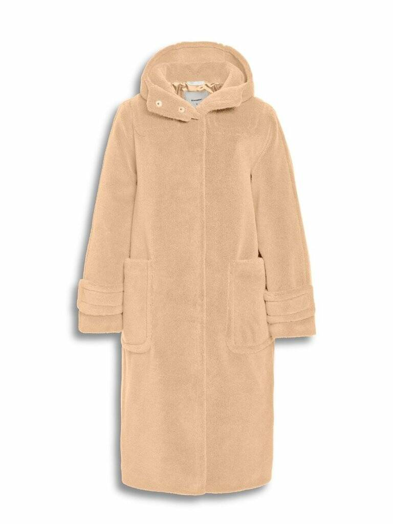 Beaumont - winterjas teddy beige