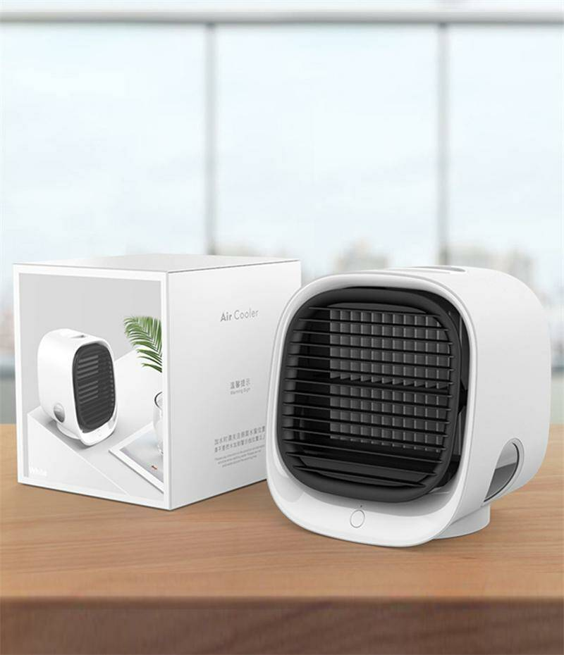 The Retro Mini Aircooler ''White''