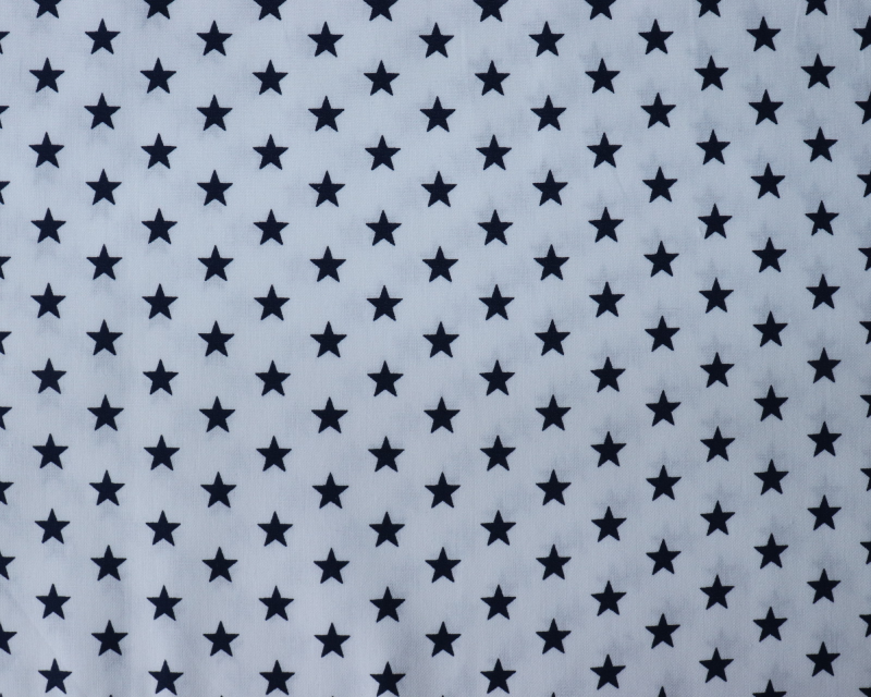 Small stars  - Wit donker blauw -