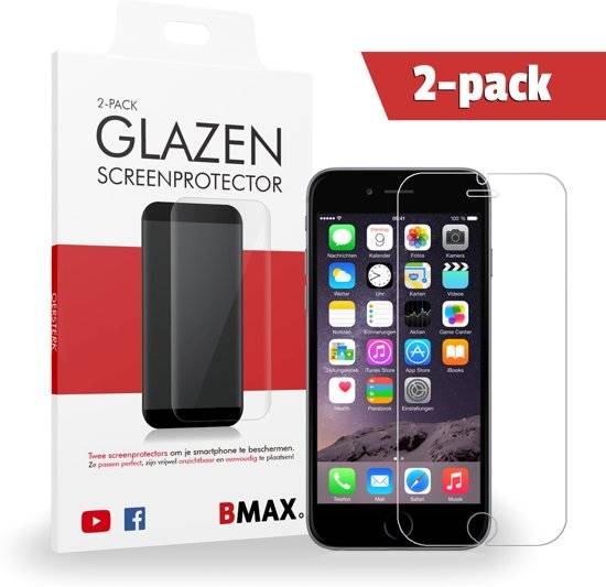2-pack iPhone 7 Glazen Screenprotector