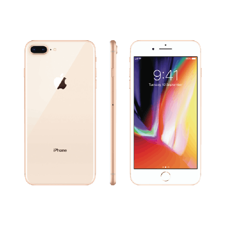 Refurbished Apple iPhone 8 Plus 64GB Goud