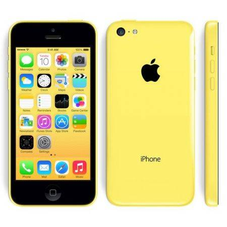 Refurbished Apple iPhone 5C 8GB Geel
