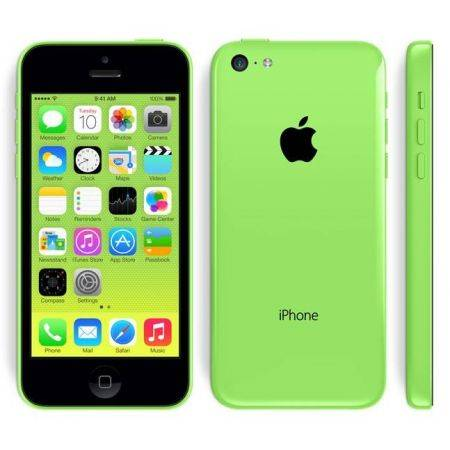 Refurbished Apple iPhone 5C 8GB Groen