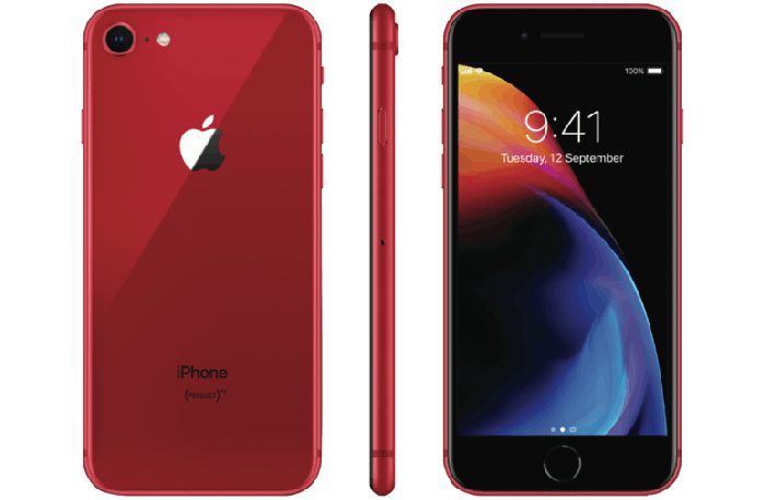 Refurbished Apple iPhone 8 64GB Rood