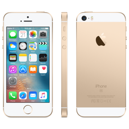 Refurbished Apple iPhone SE 16GB Goud