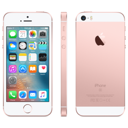 Refurbished Apple iPhone SE 16GB Rosé Goud