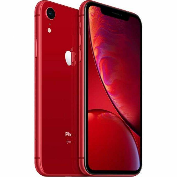 Refurbished Apple iPhone XR 64GB Rood