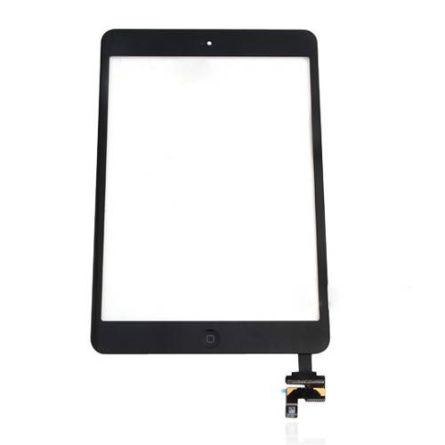 iPad mini scherm zwart of wit