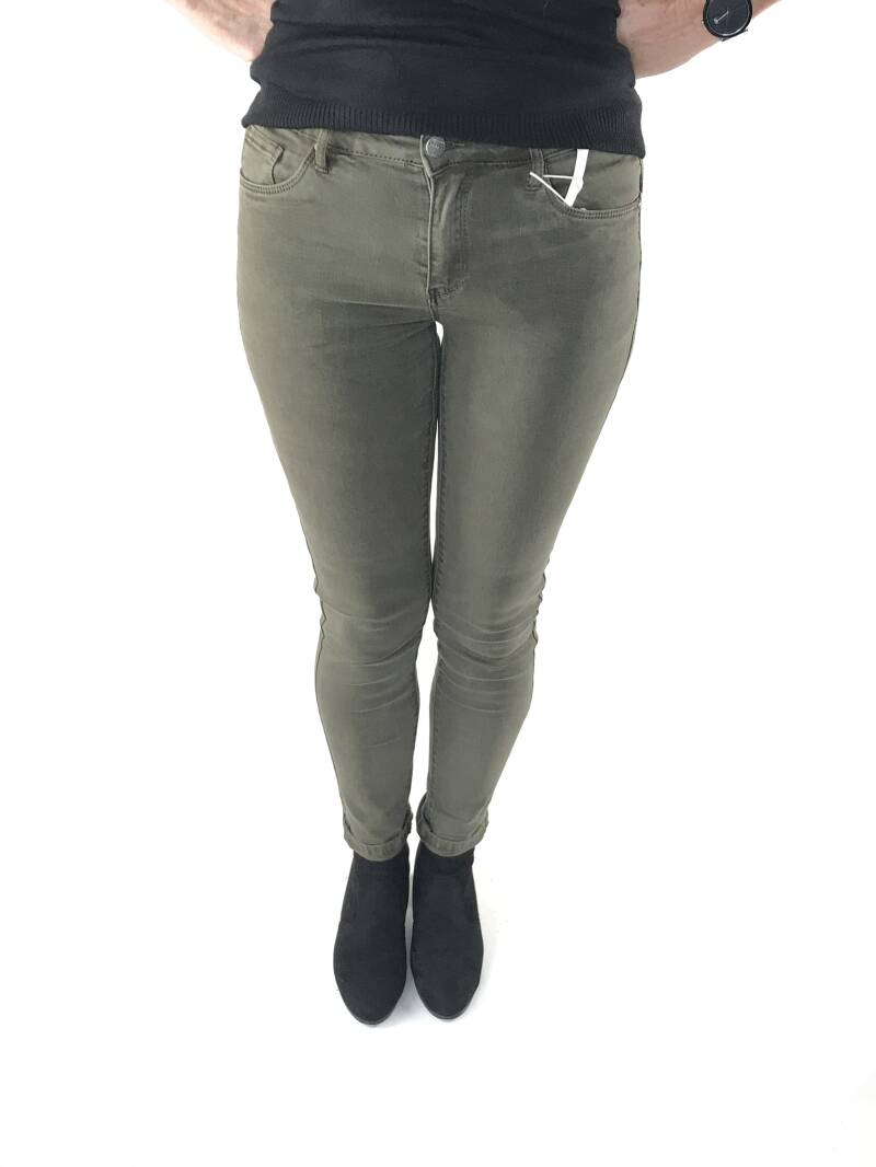 Norfy push-up jeans Groen