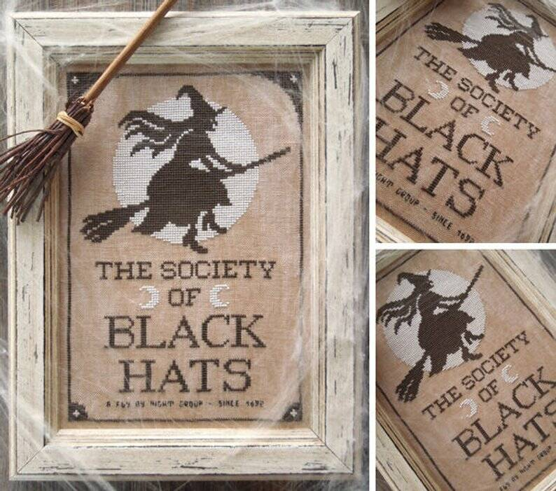 The little Stitcher The society of Black Hats