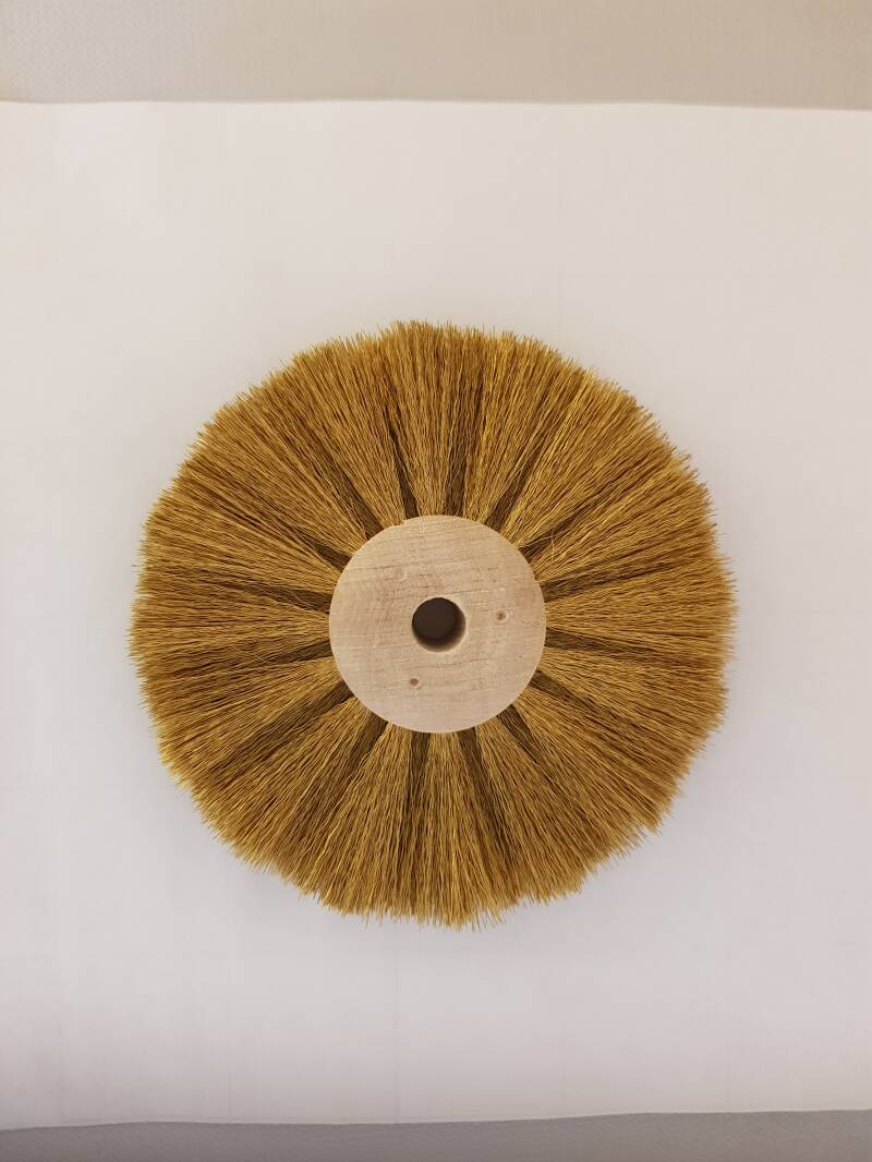 Circular Brush Brass wire Ø 0,80 mm