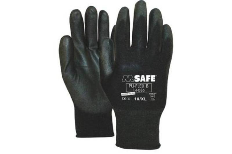 Polishing Gloves Black