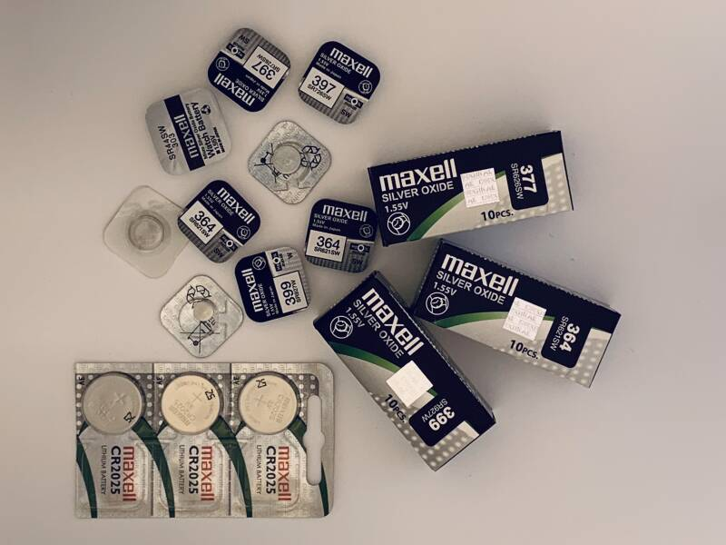 Maxell Silver Oxide Battery