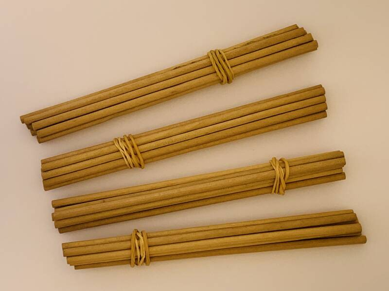 Pegwood 4mm (10 pcs)