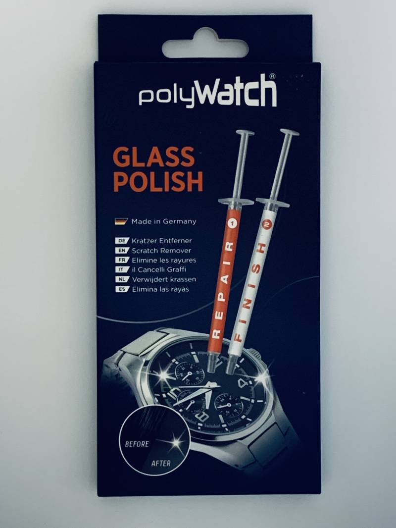 Polywatch Glass Polish - Scratch Remover for mineral glass