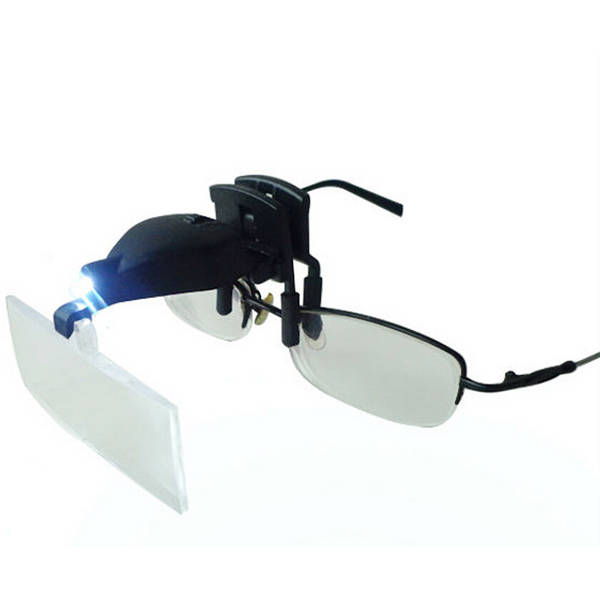 Clip on Spectacles with 3 Attachments