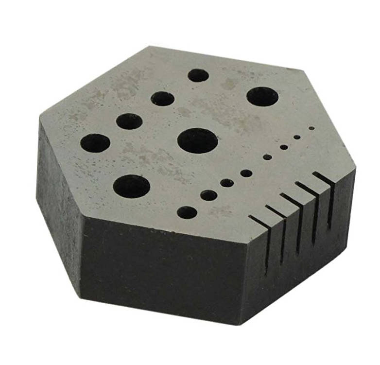 Staking & Riveting Block with 15 holes