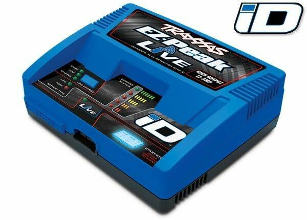 Traxxas 2971GX-C Lader, EZ-Peak Live, charger LiPo/NiMHwith iD COMBO