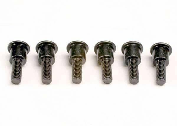 Attachment screws, shock (3x12mm shoulder screws) (6)