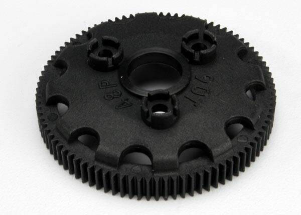 Spur gear, 90-tooth (48-pitch) (for models with Torque-Contr.)