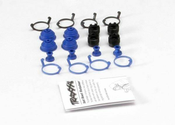 Pivot ball caps (4)/ dust boots, rubber (4)/ dust plugs, rub
