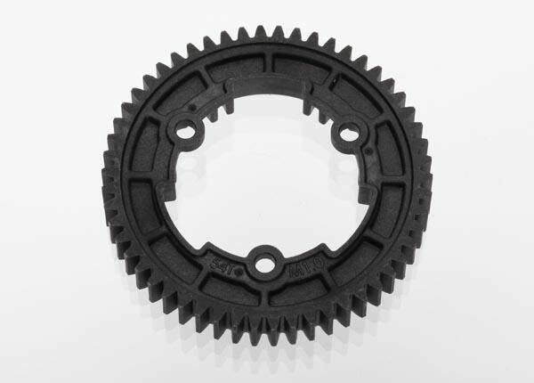 Spur gear, 54-tooth (1.0 metric pitch)