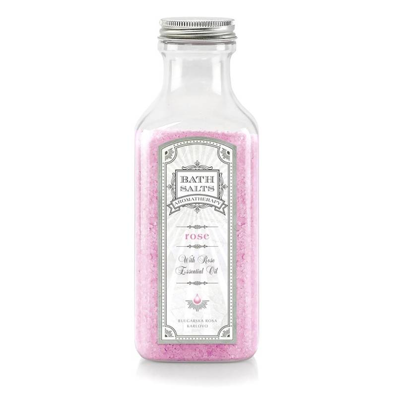 Rose Bath Salts Aromatherapy