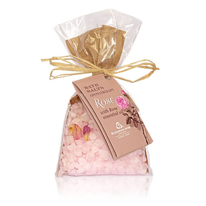 Rose Baths Salts Aromatherapy Bag