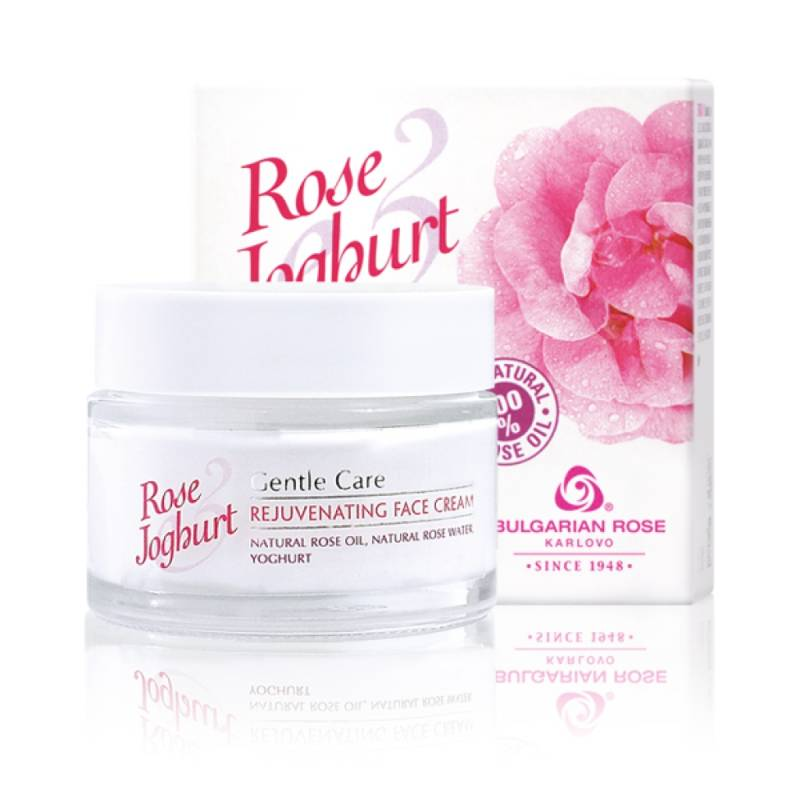 Rejuvenating Face Cream Rose Joghurt