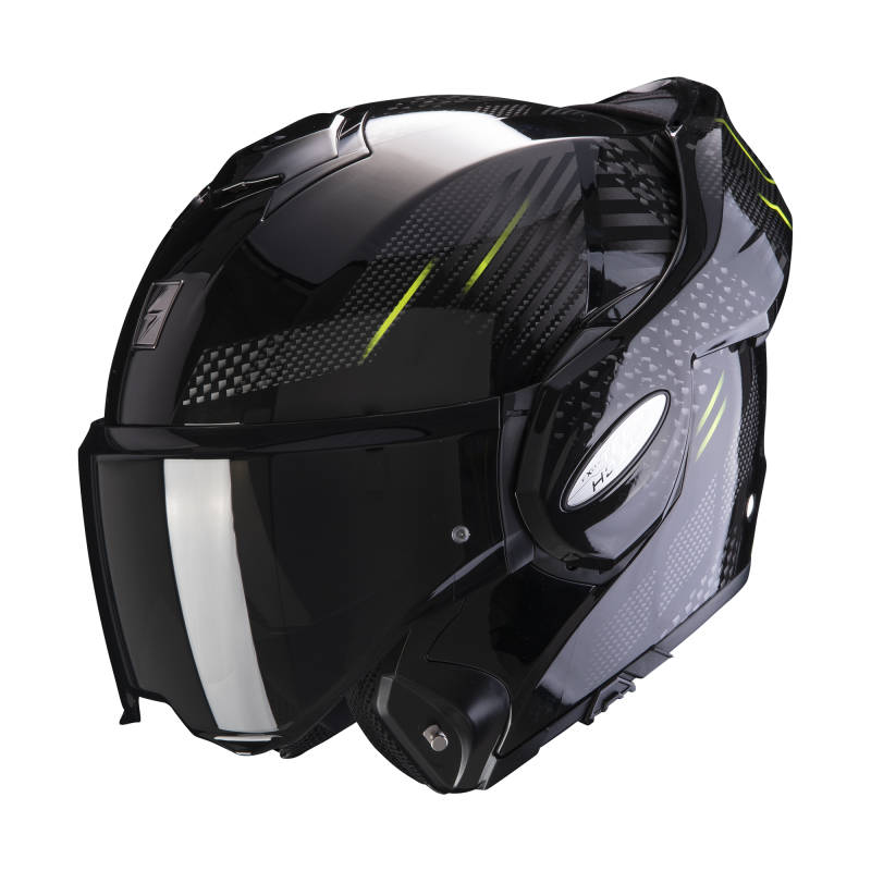 SCORPION EXO-TECH PULSE FLIP BACK HELM / 2 kleuren