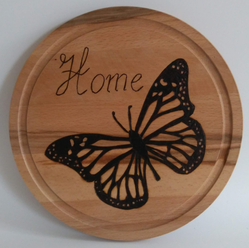 Home vlinder - Home butterfly