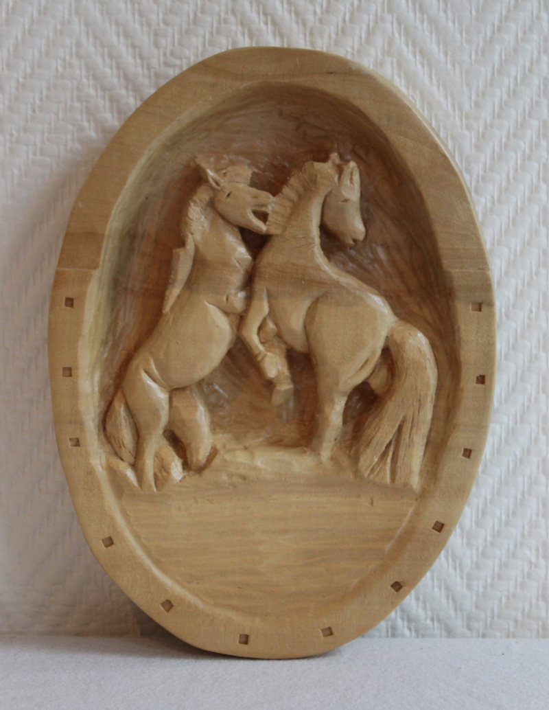 Spelende paarden - Playing horses