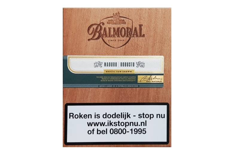 Royal Selection Robusto Maduro