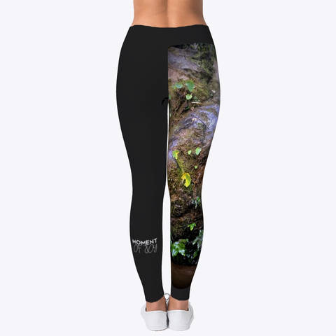 "Yoga pant ""Small Waterfall Nagarkot, Nepal"""