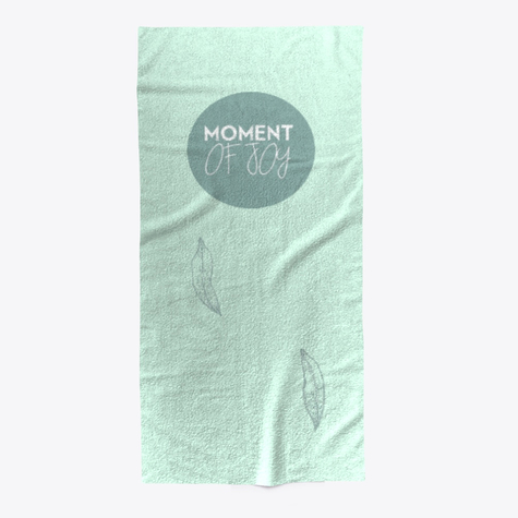 Beach Towel Moment of Joy Logo