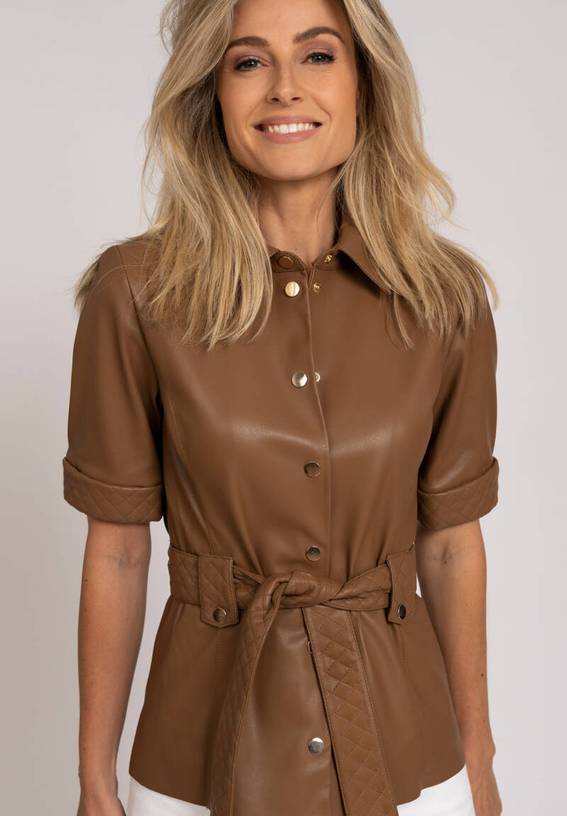 Fifth House Mac Blouse Mocca