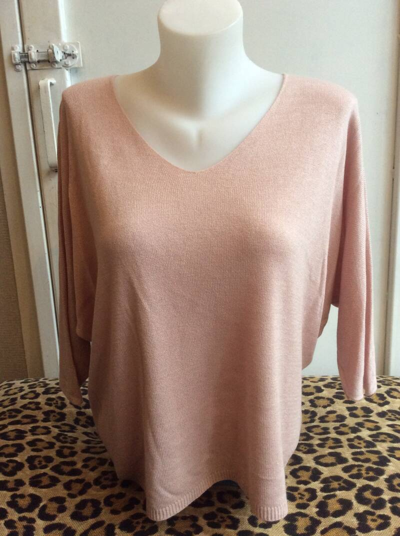 Knitted Shirt Oud Roze
