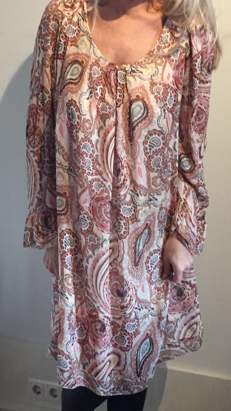 Inspired Paisley Dress Pink