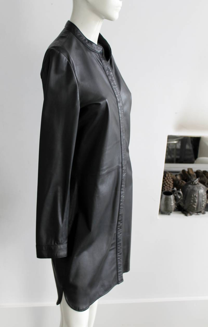Ibans leather dress