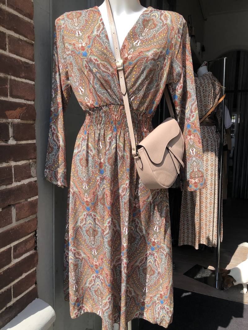 Dress Spicy Paisley Green