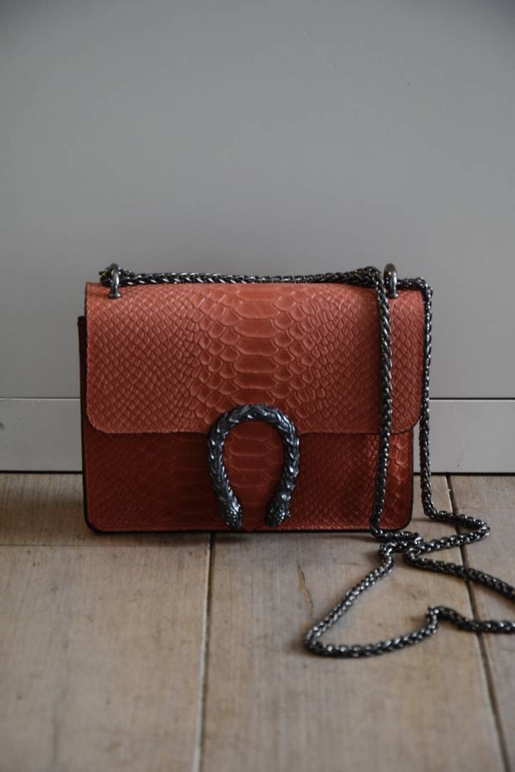 Red Gucci real Leather